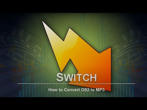 How to Convert DS2 to MP3 | Switch Audio Converter Tutorial