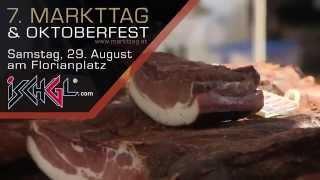 7. Markttag und Oktoberfest am 29. August in Ischgl