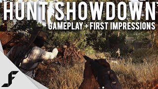 HUNT SHOWDOWN - Gameplay + First Impressions (PVP Horror Game)
