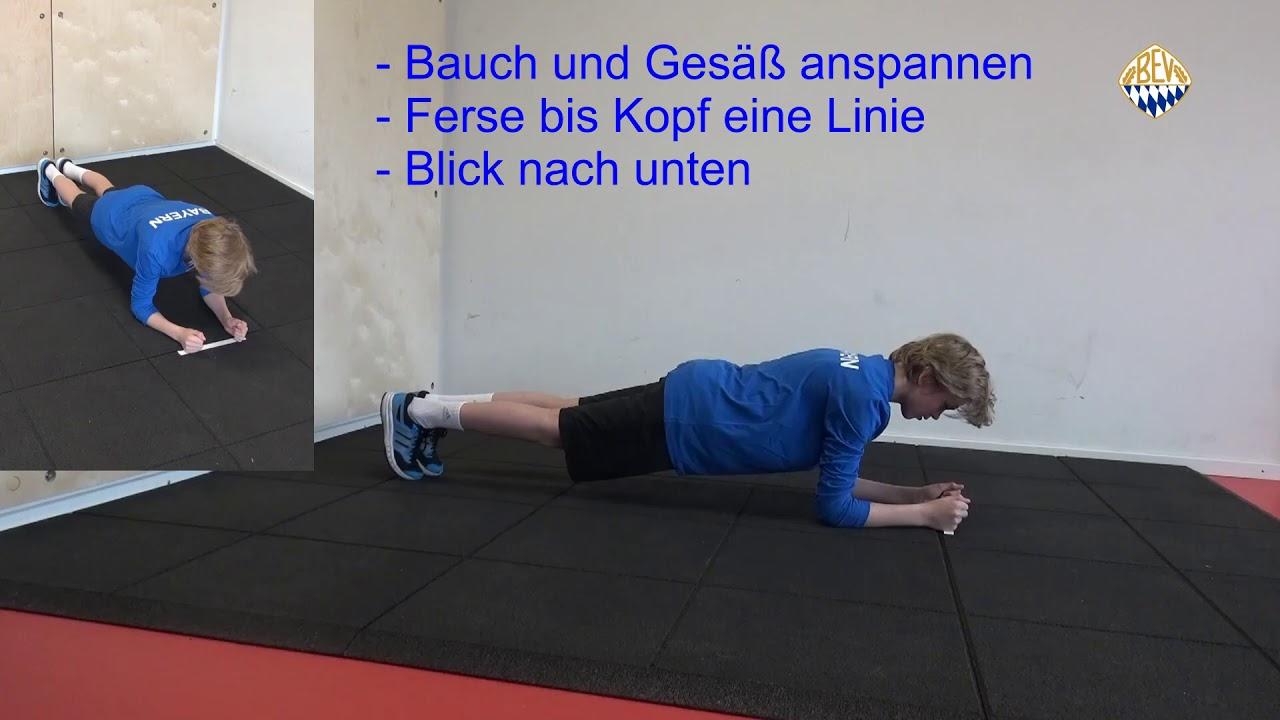 Haltegymnastik Teil 1