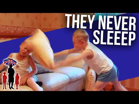 Will Dad Get To Sleep In His Bed EVER Again? | Supernanny