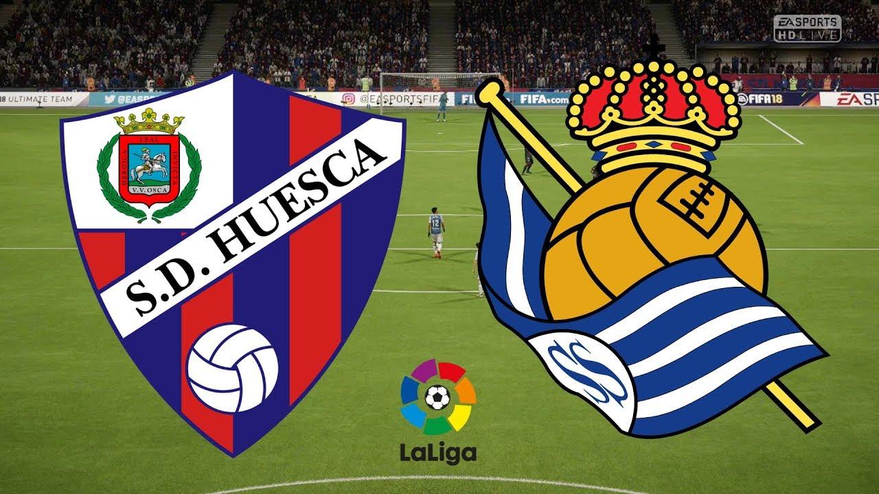 La Liga 2018/19 - SD Huesca Vs Real Sociedad - 21/09/18 - FIFA 18 - YouTube