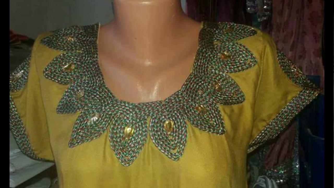 Robe kabyle et robe de maison