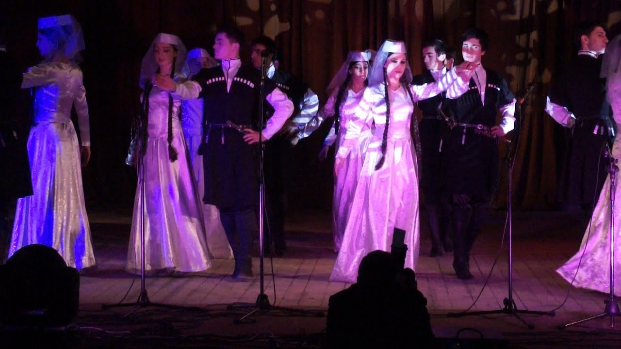 Georgian wedding dance ცეკვა ჯინველოი ნანაიდა qorwili свадьба Full hd videos