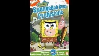 Opening to SpongeBob SquarePants: SpongeBob Goes Prehistoric 2004 DVD (Redo Version, Version #1)