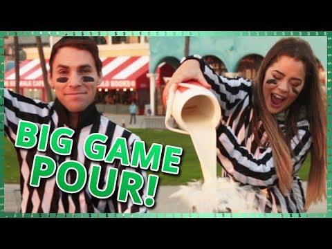 Big Game Pour Challenge!! | Do It For The Dough w/ Tessa Brooks and Tristan Tales