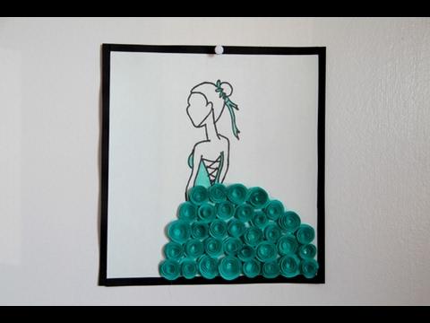 DIY Paper Flower Art