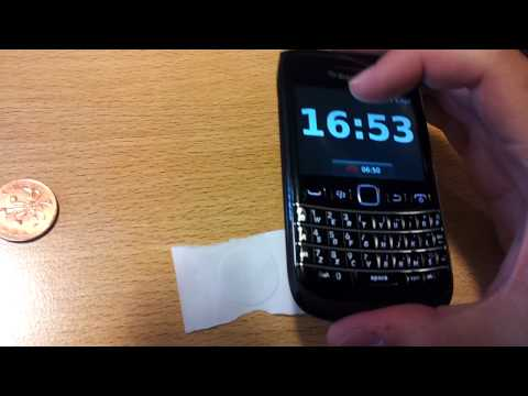 Video corto demostrando la tecnologia NFC en Blackberry - Bold 9790