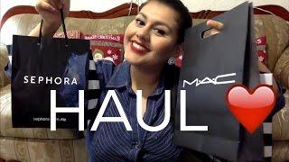 HAUL/ SEPHORA, MAC, COMPRAS ECONOMICAS DF/ Vanessa Suárez