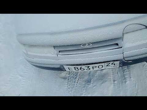 Запуск ВАЗ 2112 в мороз -30