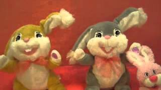 Dandee Easter Animated Flapping Bunnies.
