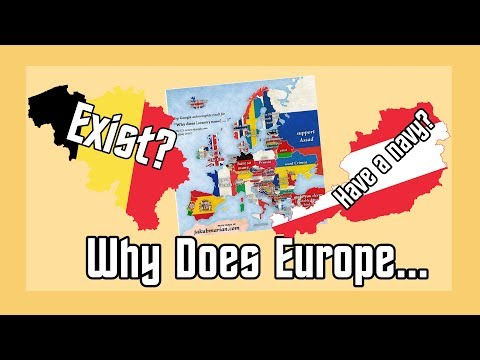 Why Does Belgium Exist? (Answering Google Autocomplete - Europe Edition)
