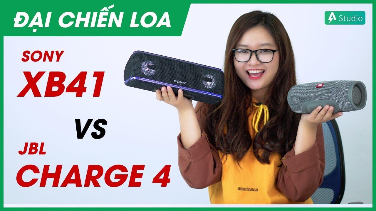 [Đại chiến loa] JBL Charge 4 vs Sony SRS-XB41 l Loa nào hơn?