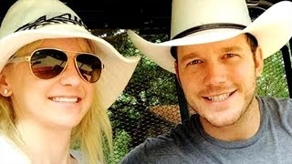 Watch Anna Faris and Chris Pratt's 3-Year-Old Son Name A Baby Penguin