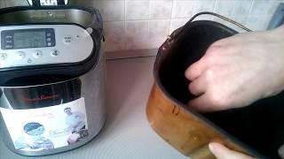Выпечка хлеба в хлебопечке мулинекс