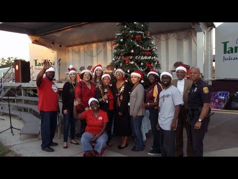 East Tampa Tree Lighting Celebration 2015
