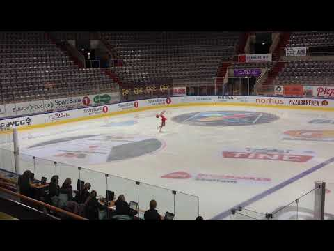 Kamilla Aaby AKK - Novice A - SP Hamar 28 10 17