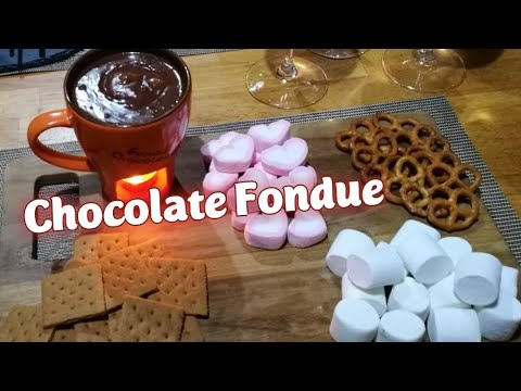Chocolate Fondue |  6 Ingredients