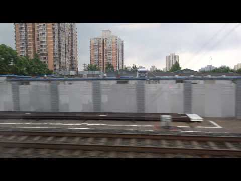 Riding the CRH High-Speed Train from Beijing to Tianjin, China