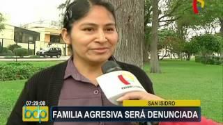 Video Comuna de San Isidro denunciará y sancionará a familia agresora por actos de racismo download MP3, 3GP, MP4, WEBM, AVI, FLV Februari 2018