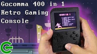 Gocomma 400 in 1 Retro Handheld Gaming Console Review