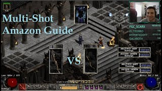 Project Diablo 2 [PD2] Multi-Shot Amazon Build Guide WF vs Buriza