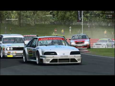 RaceRoom - DTM 1992 first try new car new track |