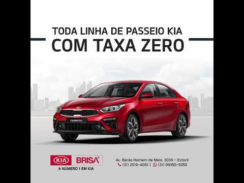 TODA LINHA KIA DE PASSEIO COM TAXA ZERO