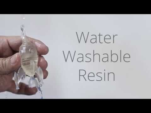 Water Washable Resin - YouTube