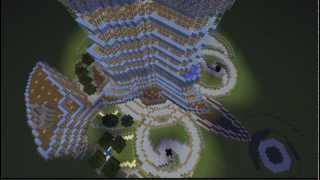 Minecraft Tour of the (Nearly Complete) Burj Khalifa