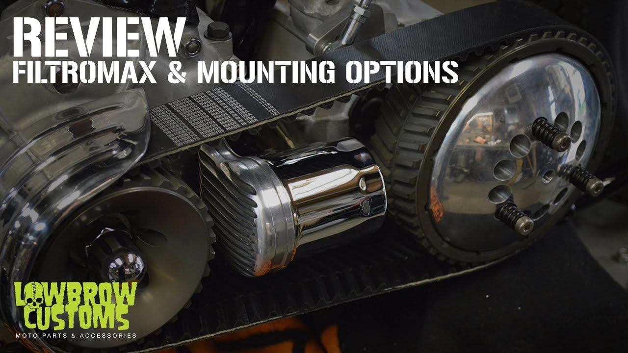 Lowbrow Customs Filtro Max Remote Oil Filter Mount Mounting Cj5 Fuel Options For Motorcycles Overview
