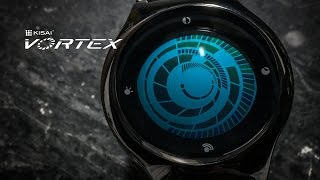 Watch Design, Kisai Vortex Touch Screen Watch from Tokyoflash Japan