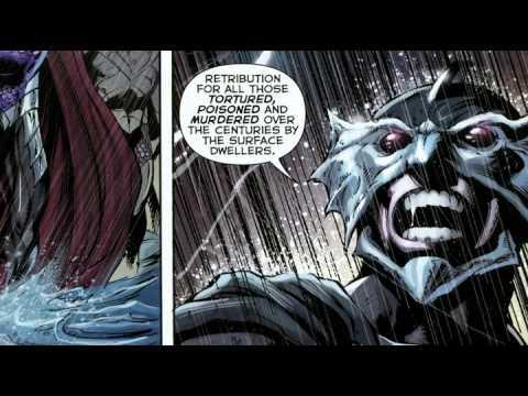 A Sneak Peek at Justice League: Throne of Atlantis