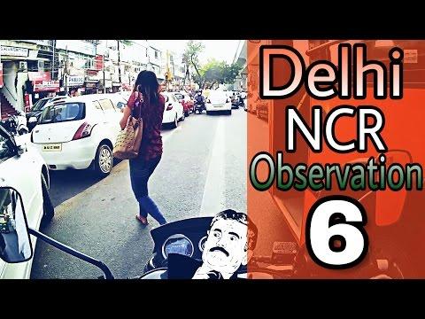 Delhi NCR Observation 6 || Diwali week || Delhi traffic LIVE and road sense || Bajaj V15 || GIB