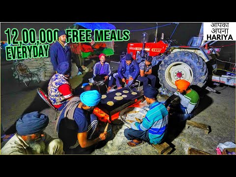 Farmers Protest | Food Preparations | Worlds Largest Highway Kitchen @ The Festival of Democracy