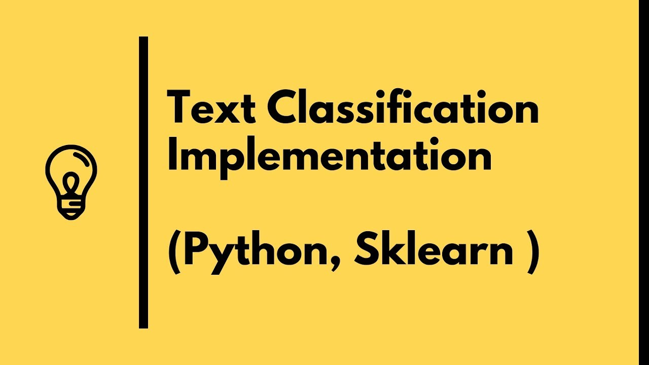 Python Text Classification