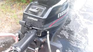 1996 Evinrude 9.9hp longshaft 2 stroke outboard motor