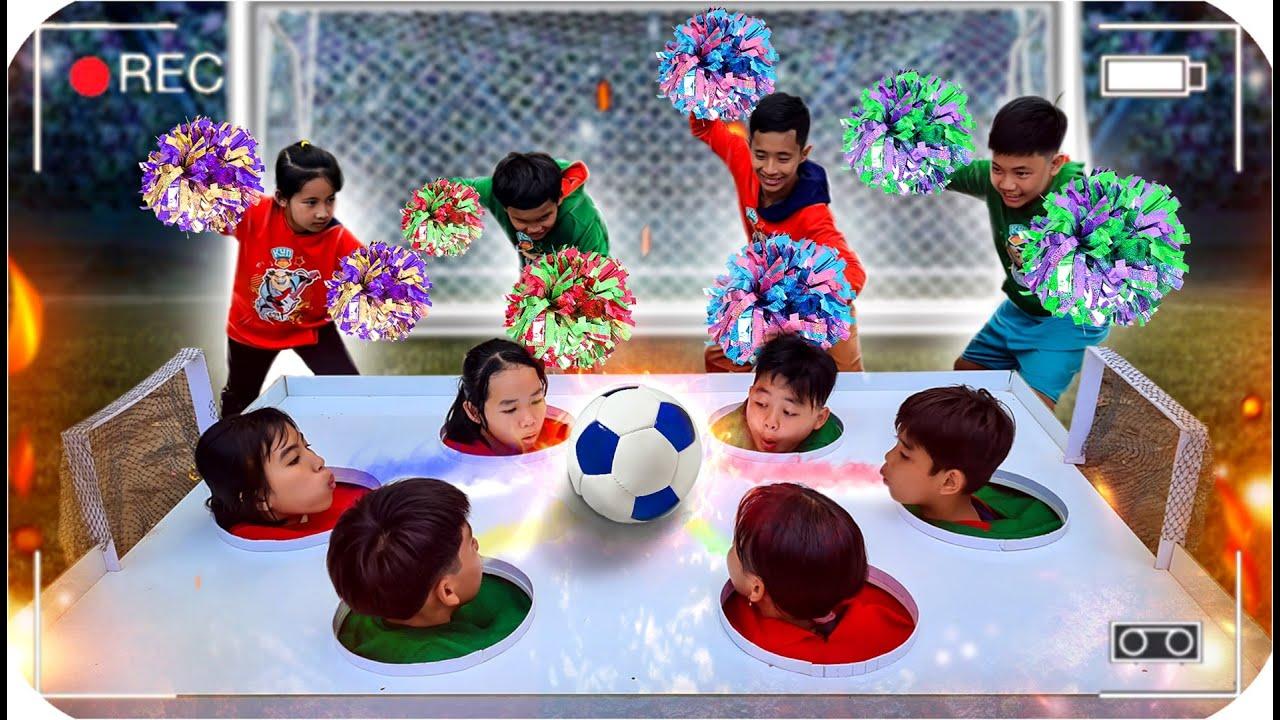 Tony   Sân Bóng Đá Kì Lạ Nhất Thế Giới  - Play Soccer With Head