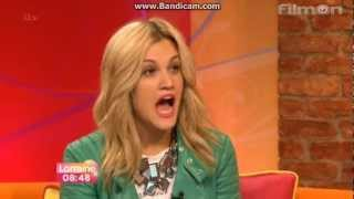 Ashley Roberts Interview on Lorraine (April 5, 2013)
