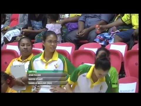 Pacific Games  2015 D13 NETBALL  G2 SOLOMON Is vs VANUATU