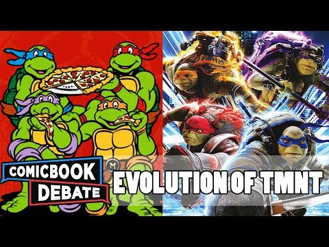 Evolution of TMNT in Cartoons, Movies & TV in 11 Minutes 2018