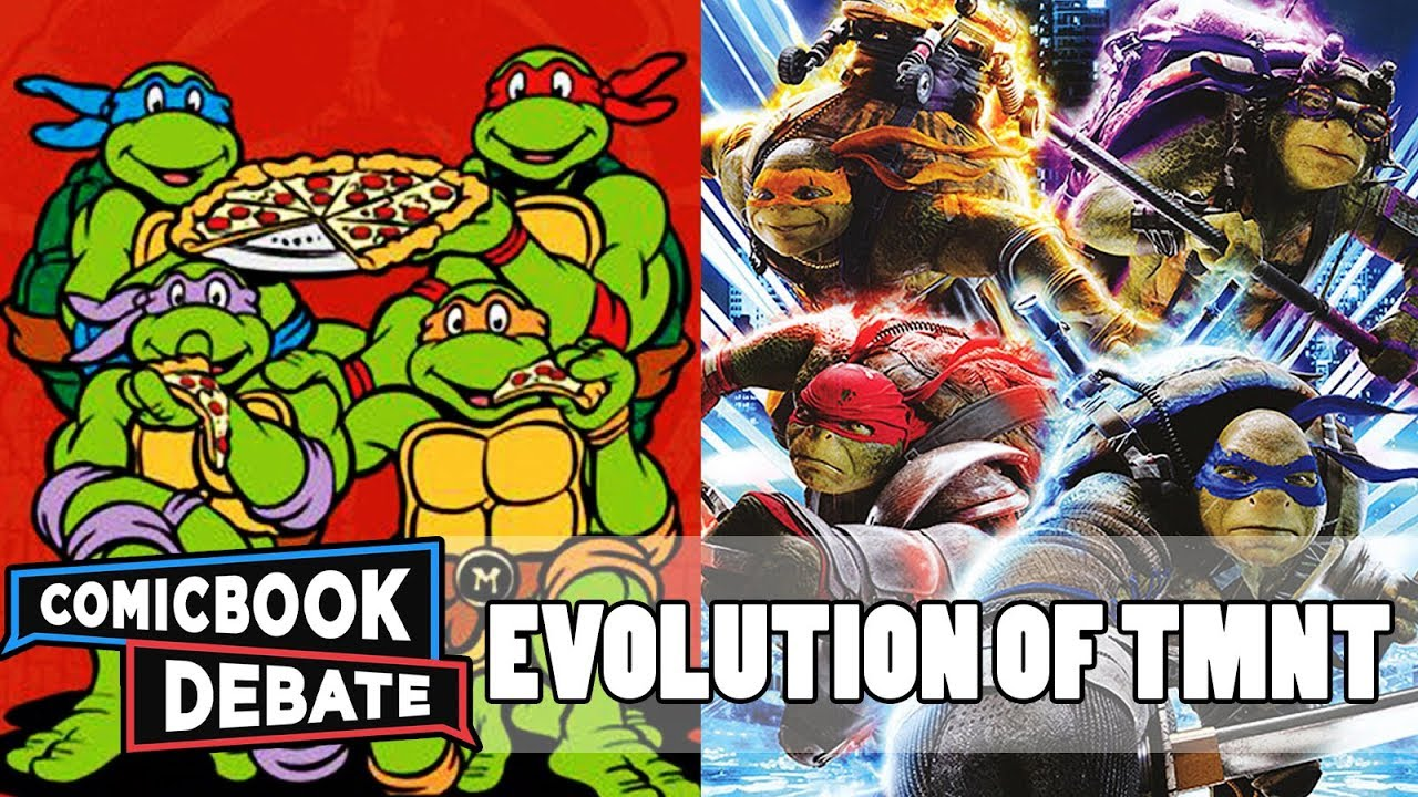 Evolution of TMNT in Cartoons, Movies & TV in 11 Minutes (2018)