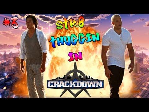 STR8 THUGGIN IN Crackdown ft. JaeRoar (YouTuber Dies From Holding in Poop) #3