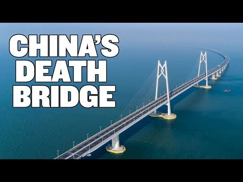 China Unveils World's Longest Sea Bridge