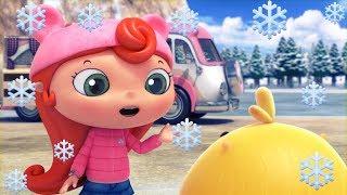 Мультики - Дуда и Дада - Зимний сборник! Все серии про зиму и Новый год для детей thumbnail