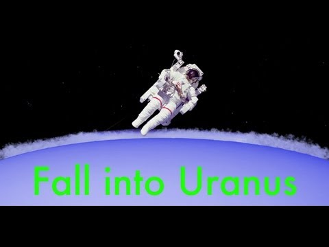 What you happen if you free-fall into the planet Uranus?