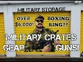 This Military Storage Unit Pays Off BIG With An Epic Knockout!
