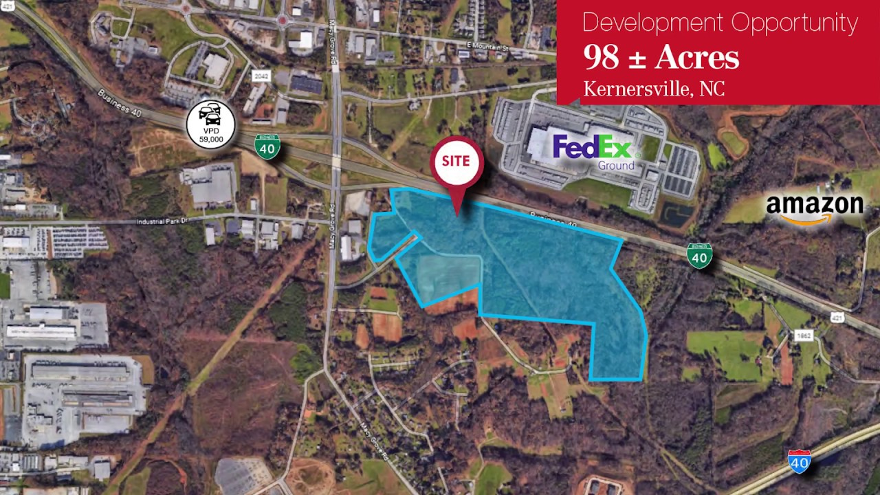 Development Opportunity: 98 Acres in Kernersville, NC