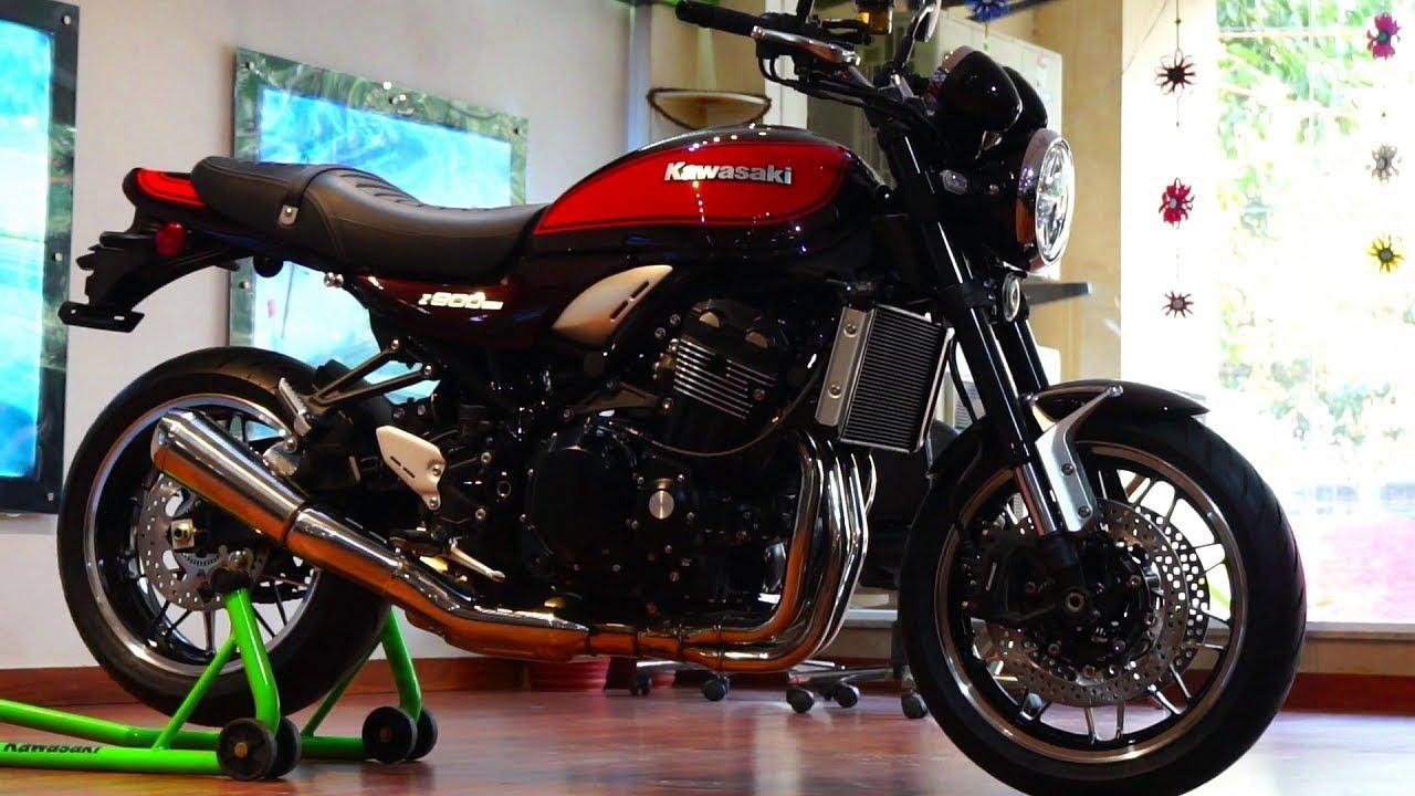 video Kawasaki Z900RS