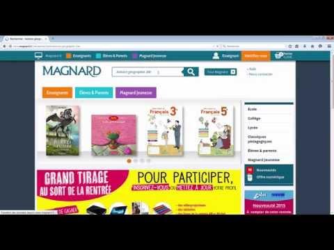 Testez les manuels numériques Magnard Collège & Lycée